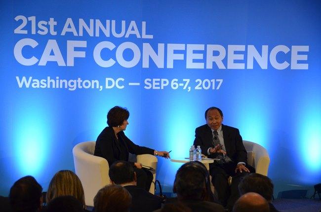 La participación de Francis Fukuyama en el foro desarrollado hasta ayer