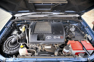 new toyota fortuner engine view