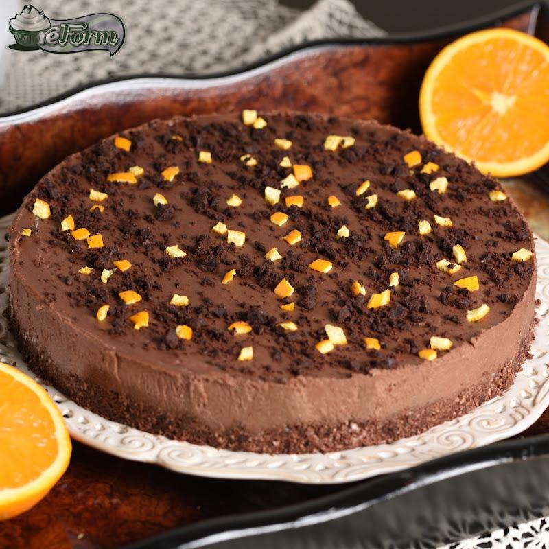 čokoládová raw torta bez mlieka, bez cukru, bez múky