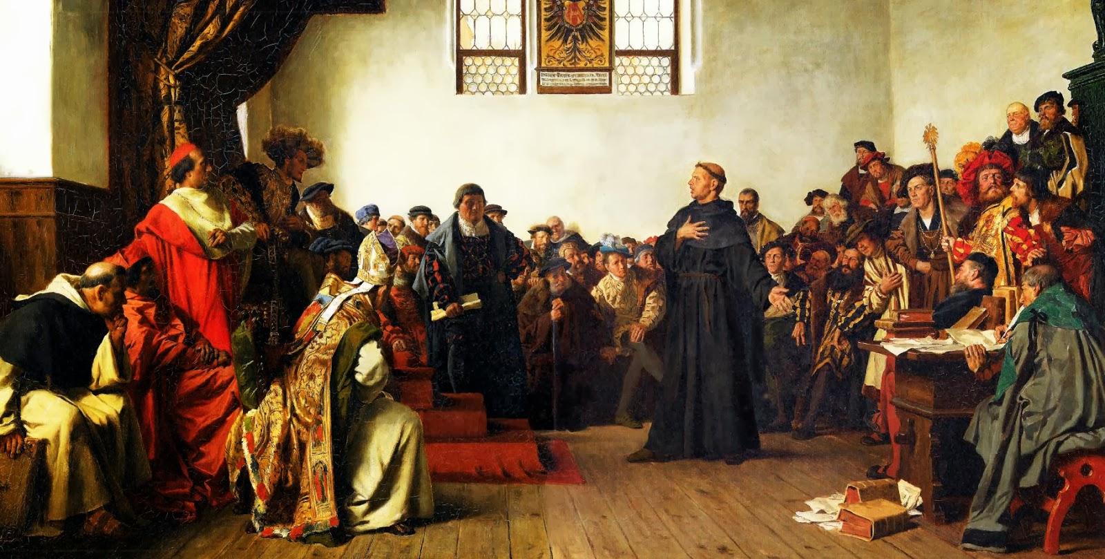 The Diet of Worms 1521: Luther Squares Off with the Emperor