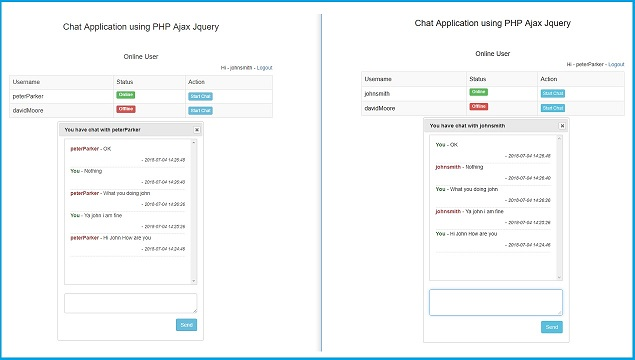 How To Create Chat App in PHP Using Ajax and JQuery