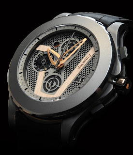 Montre Valbray V.01 Titane Or Rouge