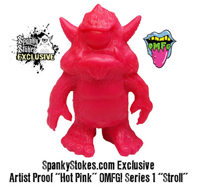 SpankyStokes.com Exclusive Hot Pink Stroll OMFG! Mini Figure
