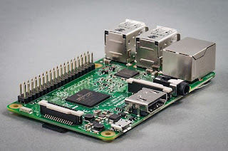 A Raspberry Pi 3 SBC