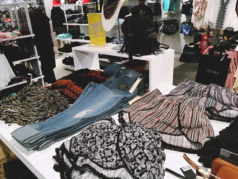 resenha moda fashion forever 21 experiência inauguração salvador bahia brasil relato