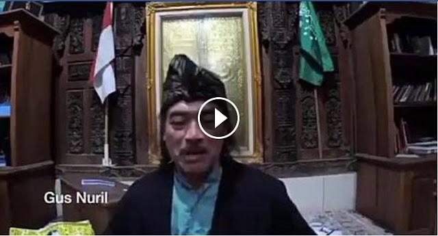 [Video] Ucapkan Ultah, Gus Nuril Sebut Ahok Penunjuk Tongkat Nabi Musa