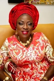 Photos: New Lagos First Lady, Mrs Bolanle Ambode - Beautiful Isn't She?