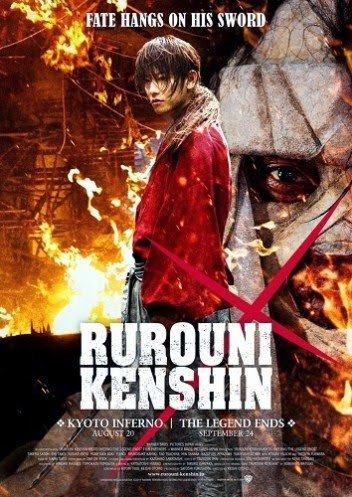 Poster Film Rurouni Kenshin Kyoto Inferno/ The Legend Ends 2