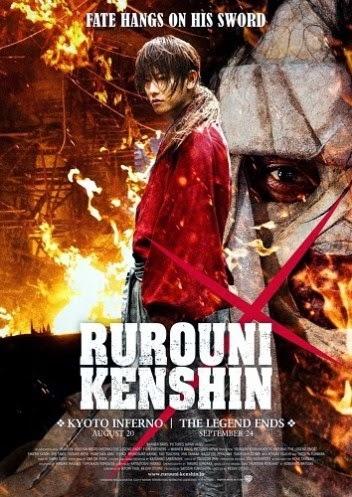 Poster Film Rurouni Kenshin Kyoto Inferno/ The Legend Ends 2