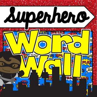 https://www.teacherspayteachers.com/Product/Superhero-Word-Wall-2646882