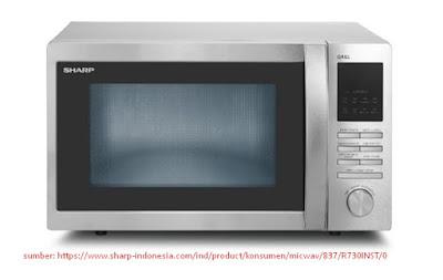harga microwave oven sharp terbaru murah