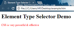 CSS-element-type-selector-example-in-Hindi