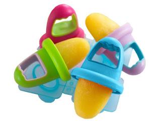picolé de frutas para bebês