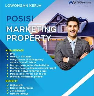 Lowongan Kerja Marketing Property di PT. Wahana Persada Indonesia