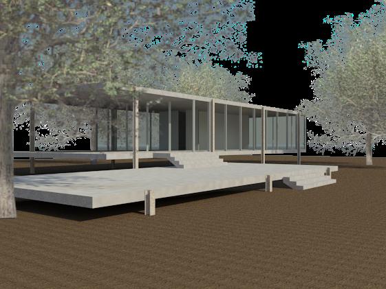 Casa Farnsworth  Garca  HIGUERAS Proyectos