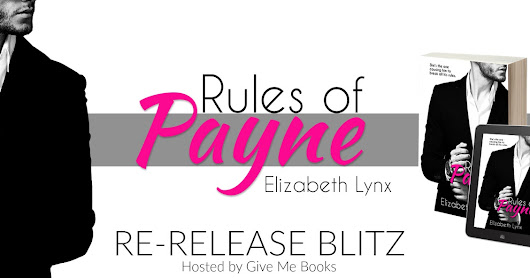 Re-release Blitz: Rules of Payne Series: Cake Love #1 by Elizabeth Lynx