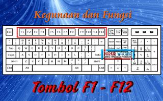 Kegunaan dan Fungsi Tombol Keyboard F1 sampai F12