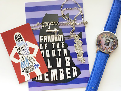 Travel through time with this fun jewelry Fandom subscription box.  The October 2016 edition of the Fandom of the Month Club is all about Dr Who.  Check out all the great fandom jewelry this month had to offer in this subscription box review.