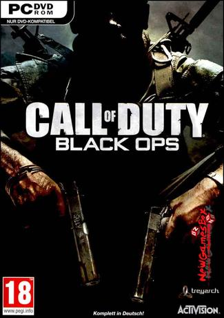 Call Of Duty Black Ops PC Game Cover