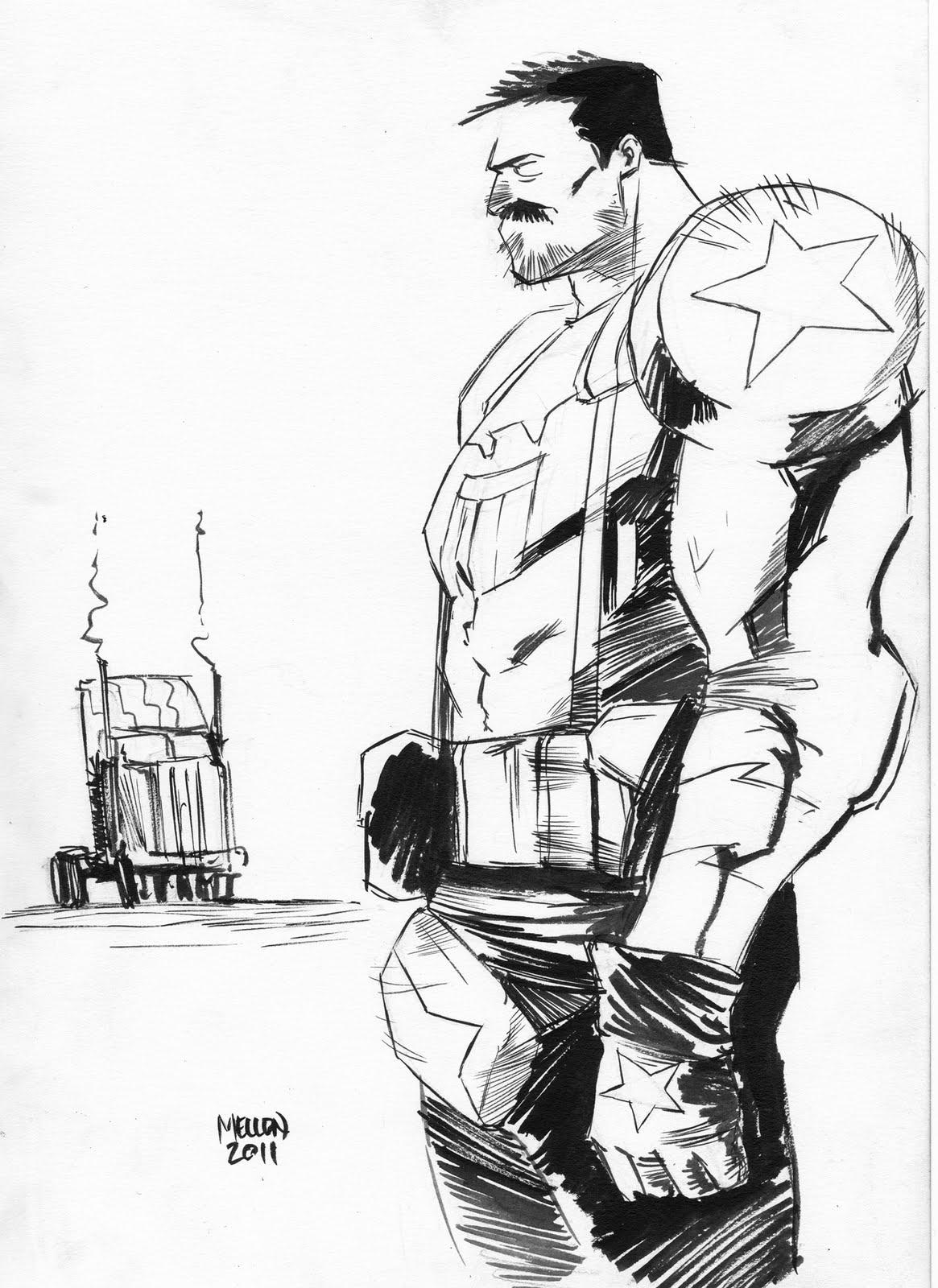 Mellon Butcher Baker Sketch