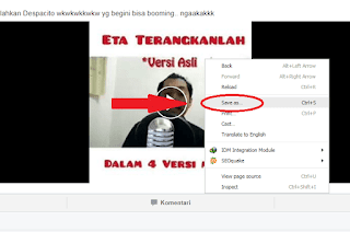 download video di facebook via android