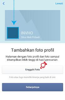 Foto Profile Halaman atau Fanspage Facebook