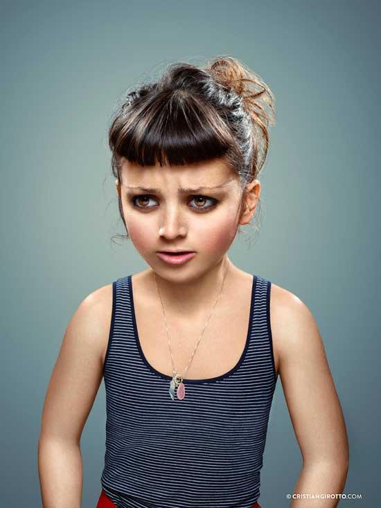 L'Enfant Extérieur by Cristian Girotto Portrait 10