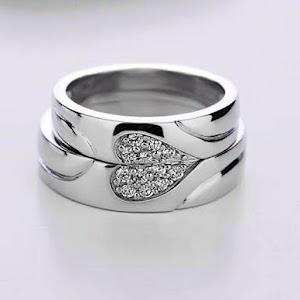 cincin perak love