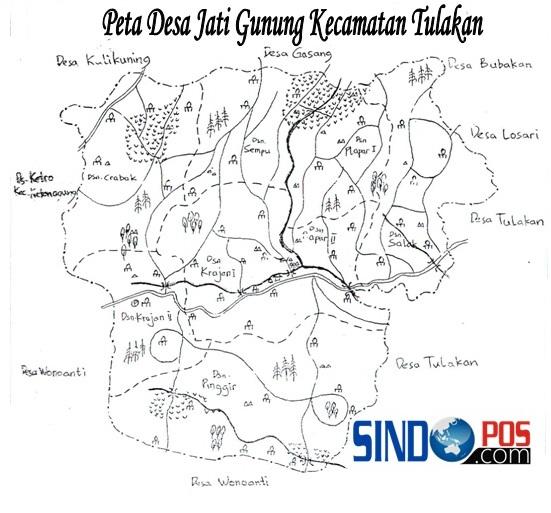 Profil Desa & Kelurahan, Desa Jatigunung Kecamatan Tulakan Kabupaten Pacitan