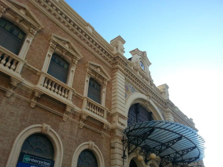 Estación ferrocarril Cartagena