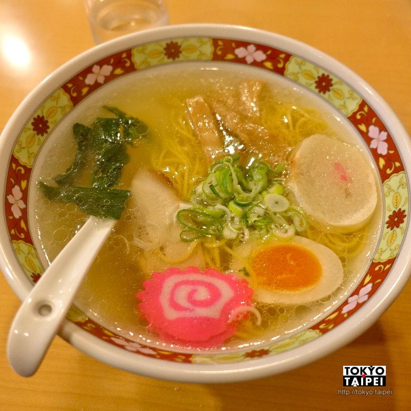 【Shinano】函館鹽味拉麵名店 雞骨熬出的清澈美味湯頭
