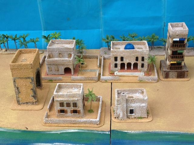 jp wargaming place: Middle East/Arab Houses in 20mm (1)  jp wargaming pl...