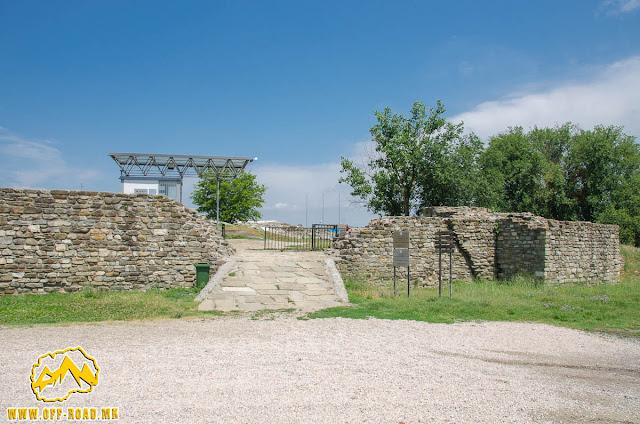 Stobi Archaeological site - Macedonia