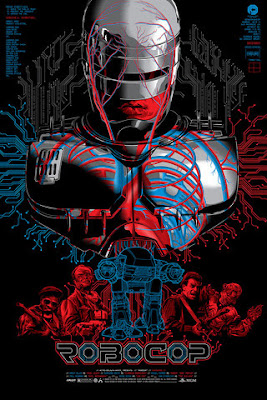 RoboCop Screen Print by Anthony Petrie x Skuzzles