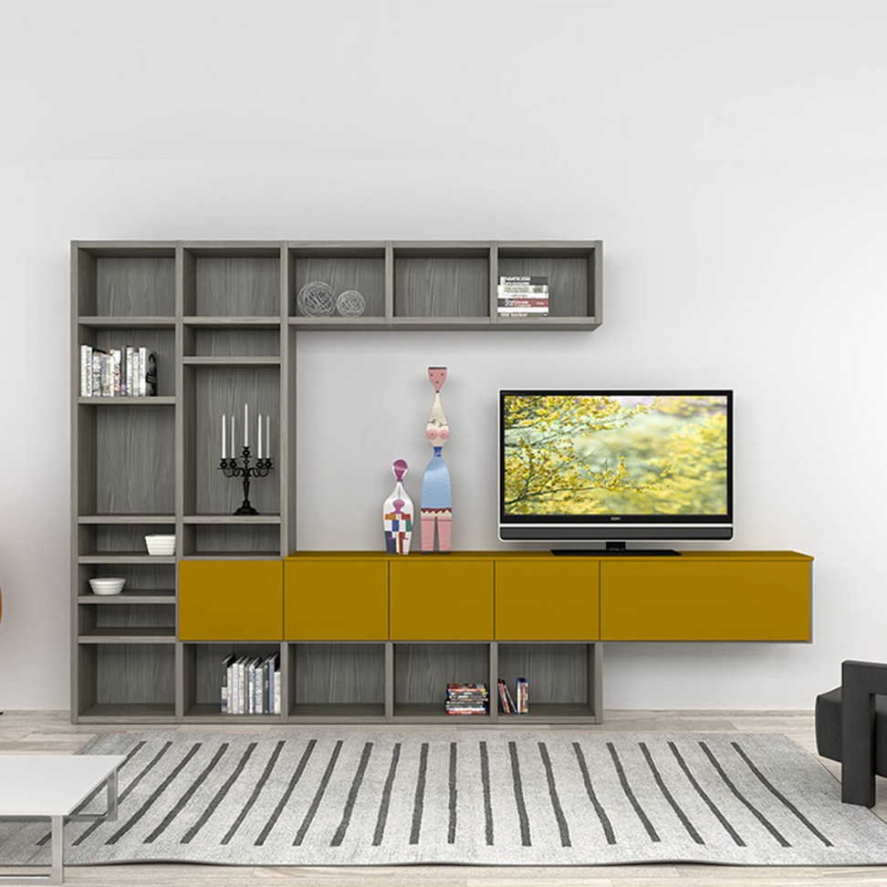 100 Model Rak Tv Minimalis Terbaru 2017 2018 Rumahku Unik # Meuble Tv Hifi Design