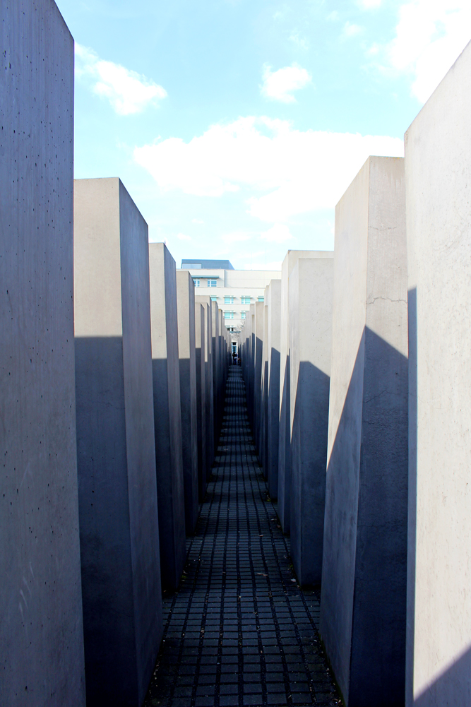The Memorial to the Murdered Jews of Europe, Berlin - travel & lifestyle blog