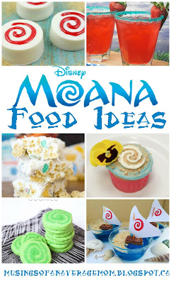 Moana food ideas