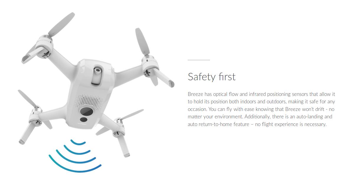 Drone Breeze dengan Kamera 4K dan Bisa Live Streaming di Jejaring Sosial Harga Terjangkau