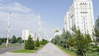 Only white. It does matter if black or white in Turkmenistan