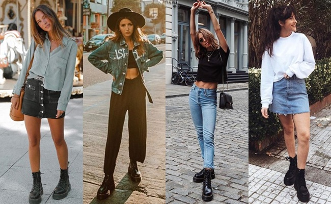 28 OUTFITS WITH DR.MARTENS Falling for A