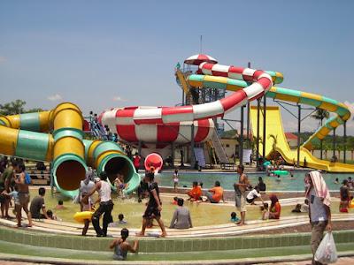 Wisata Air Banjar Waterpark Kota Banjar 2017