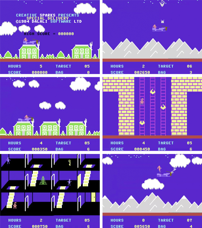 Special Delivery Santa's Christmas Chaos Commodore 64