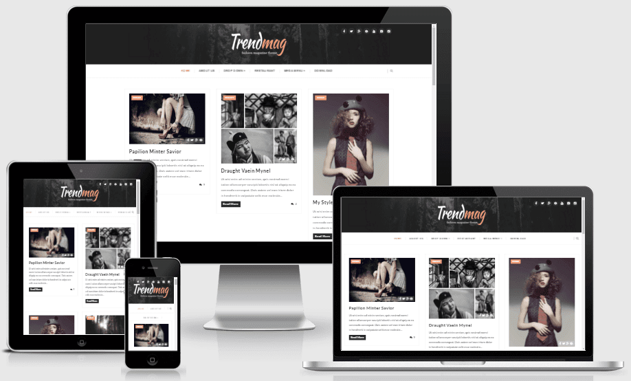 Trendmag - Responsive Clean Blogger Template