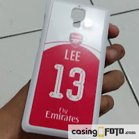 Custom Case Jersey Arsenal