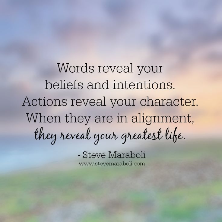 Inspirational Quotes On Character: Motivational Moment: Actions Reveal True Character...Steve