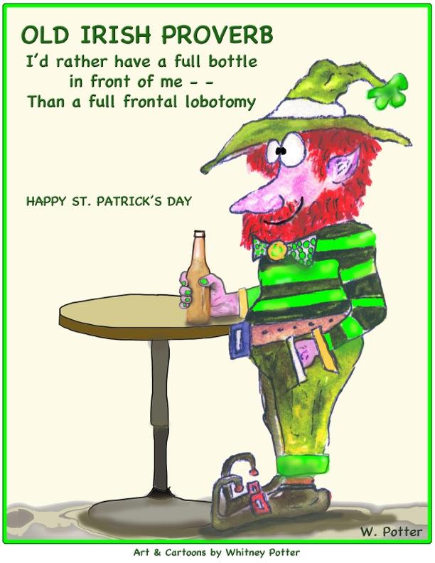 Shoreline Area News: Cartoon: Happy St. Patrick's Day