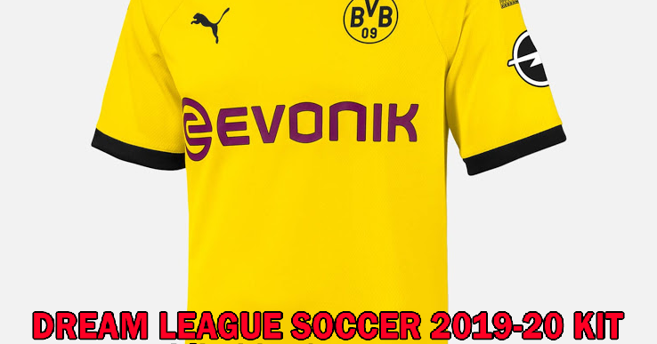 Borussia Dortmund 2019-2020 Dream League Soccer Kit and ...