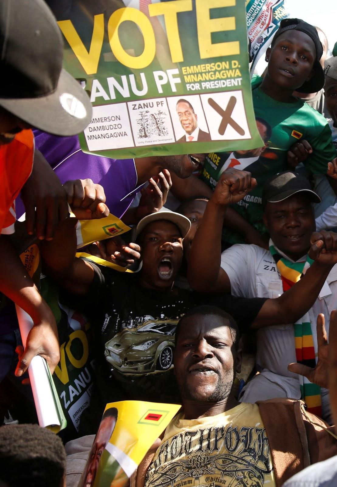 Thank You Zimbabwe, says Emmerson Dambudzo Mnangagwa