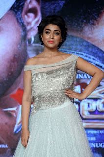 Shriya Saran at Nakshatram Telugu Movie Audio Release Function Photos Gallery