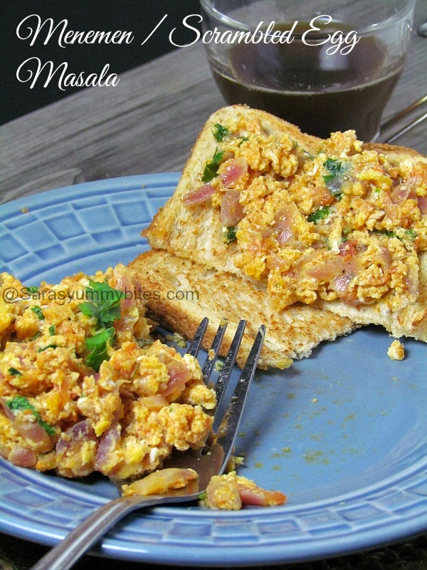 The Breakfast Bible's Menemen / Scrambled Egg Masala